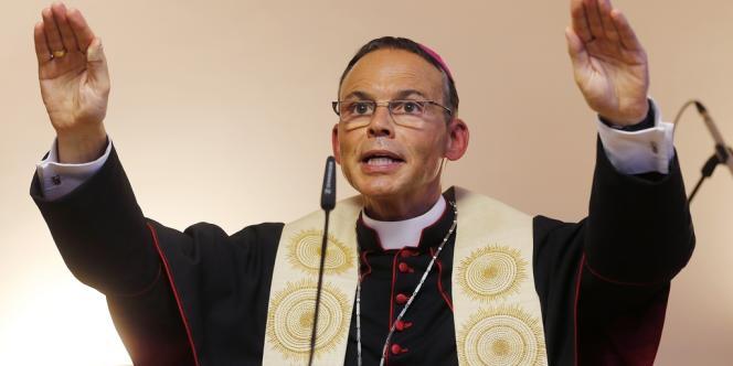 L'évêque de Limburg, Franz-Peter Tebartz-van Els.