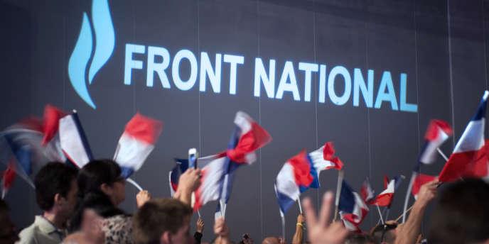 Lors de l'université d'été du Front national à Marseille, le 15 septembre.