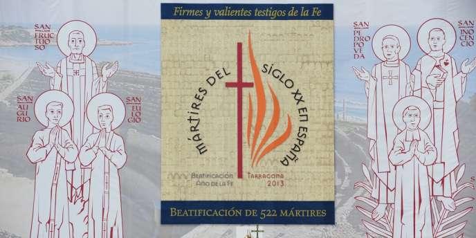 Le Vatican a béatifié 522 religieux, pour la plupart morts pendant la guerre civile espagnole aux mains de miliciens républicains, le 13 octobre.