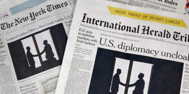 Depuis le 15 octobre, l'International Herald Tribune a été rebaptisé