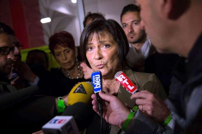 Marie-Arlette Carlotti en octobre 2013.