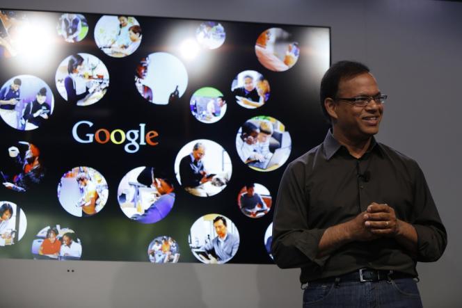 Amit Singhal, vice-président de la recherche de Google, le 26 septembre.