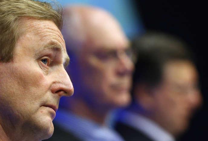 Enda Kenny, au Conseil européen, à Bruxelles, le 28 juin.