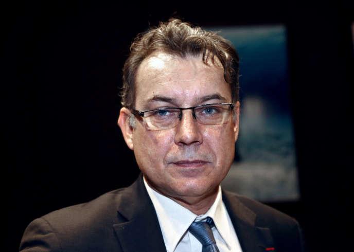 Pierre-Franck Chevet, président de l'Autorité de sûreté nucléaire, le 16 avril à Paris.