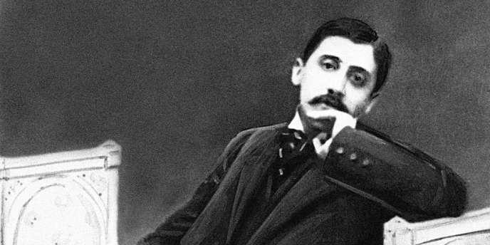 Marcel Proust, vers 1896.