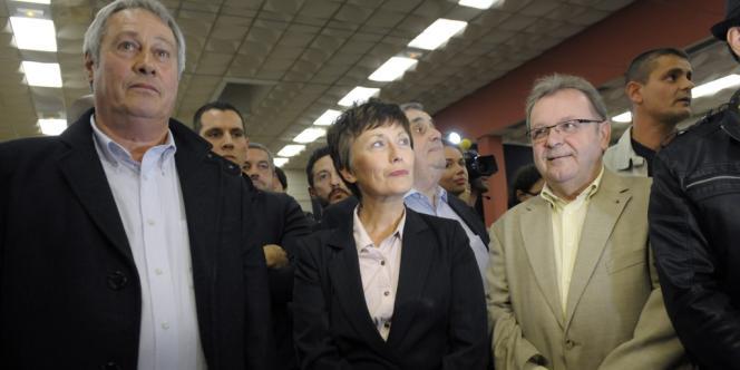 La candidate UMP, Catherine Delzers, a obtenu 46,1 % des voix.
