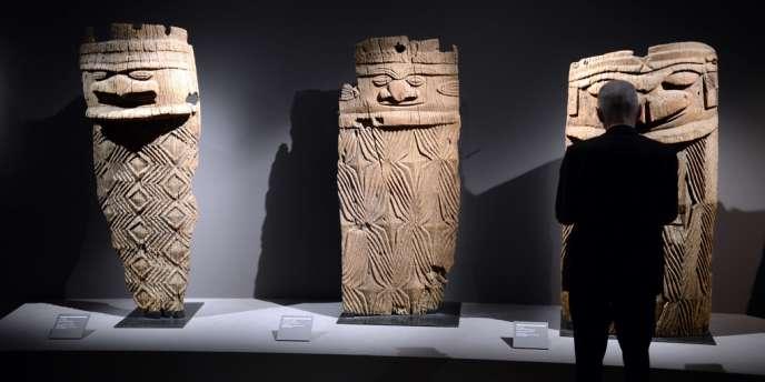 L'art primitif est très apprécié des collectionneurs d'art contemporain.