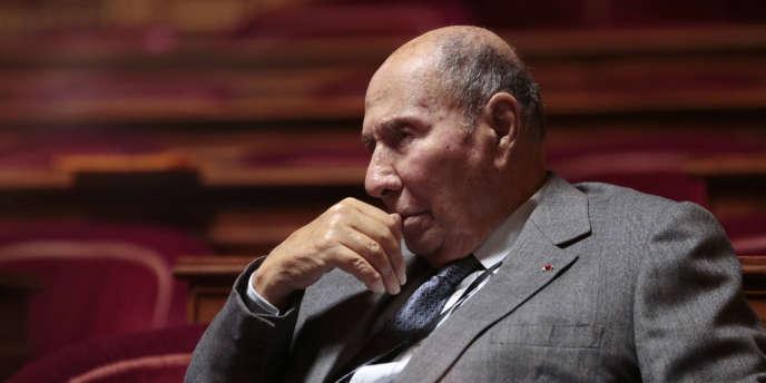 Le sénateur et industriel Serge Dassault.