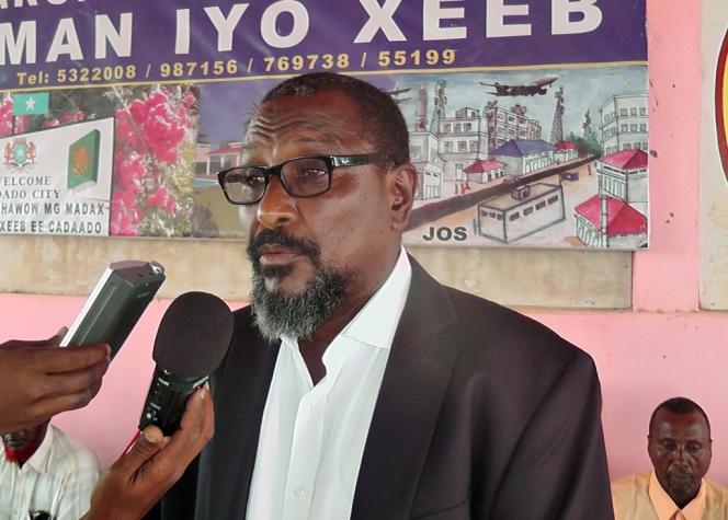 Mohamed Abdi Hassan, le 9 janvier à Adado, en Somalie.