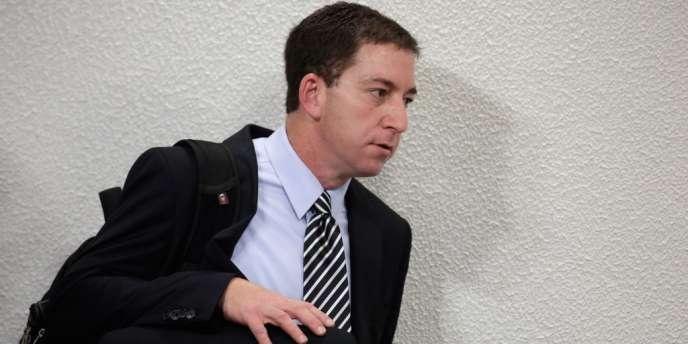 Le journaliste américain Glenn Greenwald, au Brésil, le 9octobre2013.