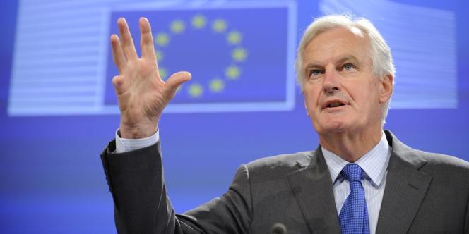 Michel Barnier, le commissaire européen au marché intérieur et aux services, le 18 septembre 2013, à Bruxelles.