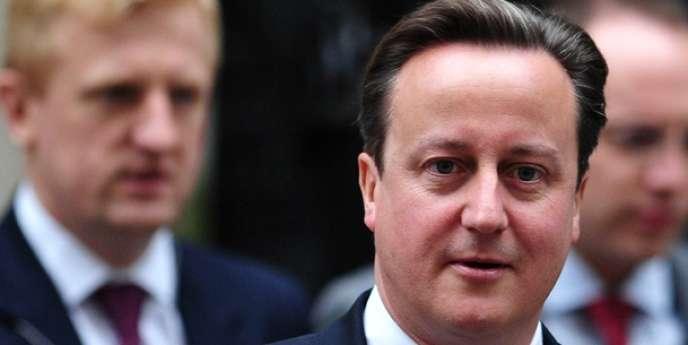 David Cameron, le premier ministre britannique, s'est notamment appuyé sur une étude qui indique que le Royaume-Uni, 6e économie mondiale, délogera la France du 5e rang d'ici à 2018.