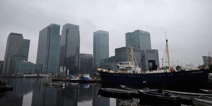 La City de Londres, le 28 septembre 2010.