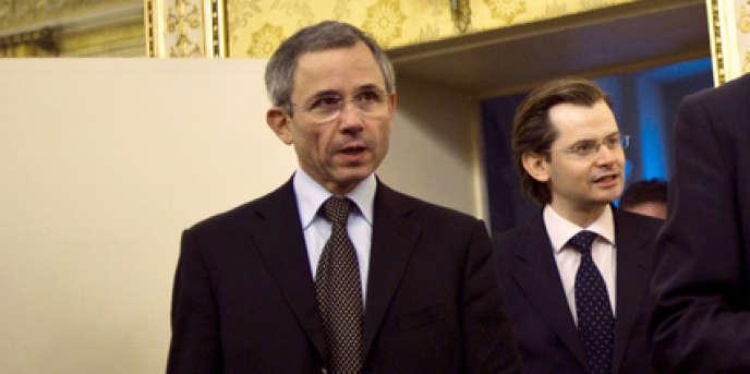 Stéphane Fratacci, alors secrétaire général du ministère de l'immigration et de l'identité nationale, en 2010.