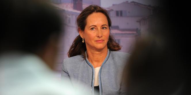 Ségolène Royal avait qualifié la fronde contre l'écotaxe en Bretagne de «révolte citoyenne», le10novembre2013.