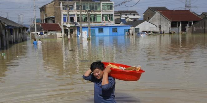 Yuyao se situe dans la province du Zhejiang, dans l'est de la Chine. Ici le 10 octobre.