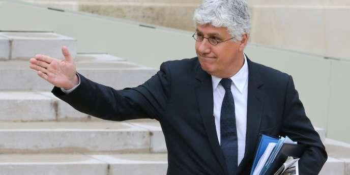 Philippe Martin, le 9 octobre à l'Elysée.