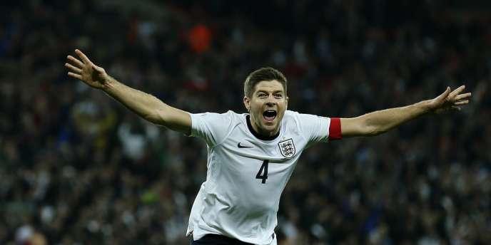 Steven Gerrard, auteur du deuxième but de l'Angleterre face à la Pologne, le 15 octobre à Wembley, vient d'envoyer son pays au Brésil.
