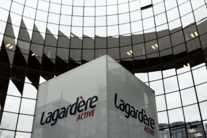 Le siège de Lagardère Active, à Levallois-Perret. 383 emplois sont menacés dans le groupe.