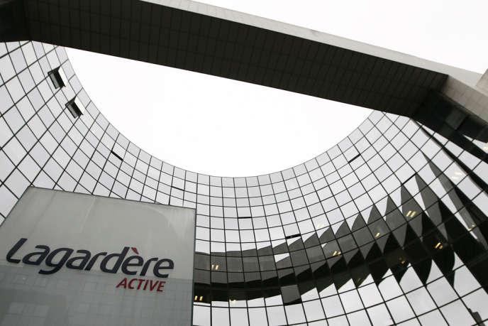 Le siège de Lagardère Active à Levallois-Perret, en janvier 2011.