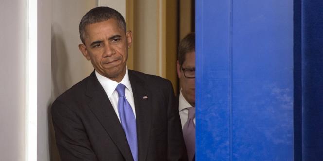 Barack Obama, le 16 octobre à la Maison Blanche.