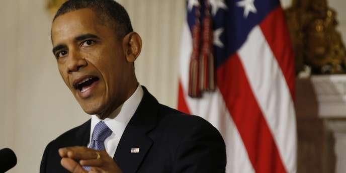 Barack Obama, le 17 octobre 2013.