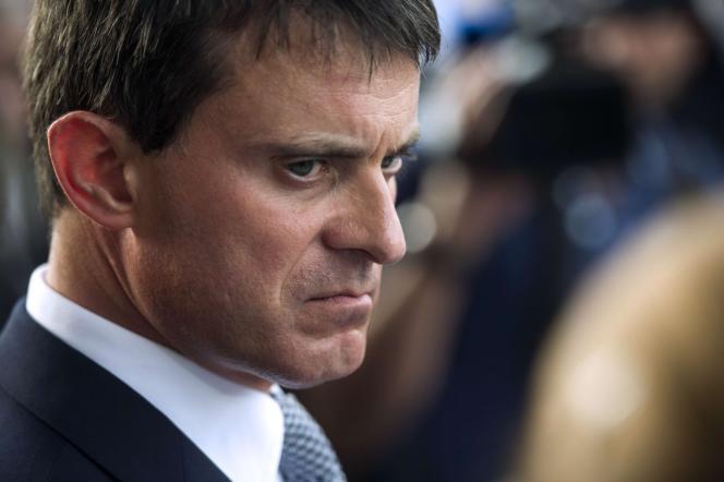 Le ministère de l'intérieur, Manuel Valls, le 25 septembre.