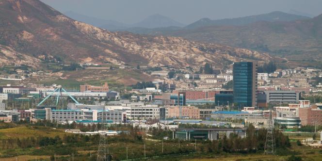 Le centre industriel de Kaesong en Corée du Nord.