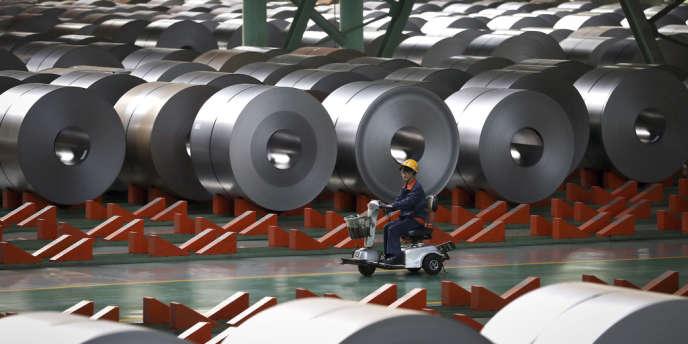 Une usine d'aluminium dans la province chinoise du Hebei.