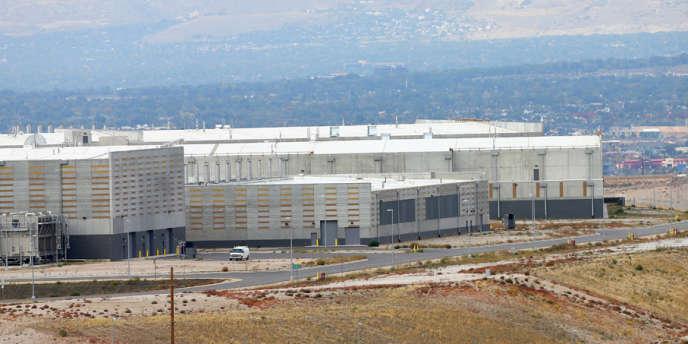 Le nouveau datacenter de la NSA à Bluffdale, dans l'Utah, le 8 octobre 2013.