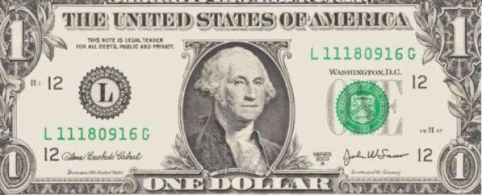 Un dollar américain.