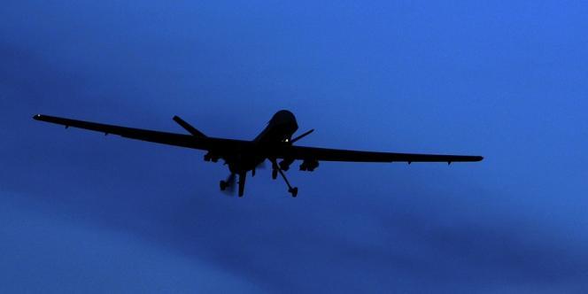 Un drone Predator survole la zone aérienne de Kandahar dans le sud de l'Afghanistan, en 2010. Les Européens dépendent aujourd'hui des Américains pour ce type d'armement.