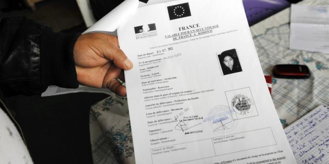 Aller simple pour le Kosovo pour Ljaria Dibrani.