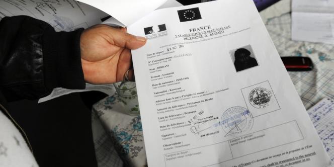 L'arrêté de reconduite à la frontière de Leonarda Dibrani.