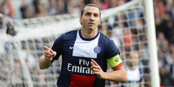 Zlatan Ibrahimovic, le 19 octobre à Paris.