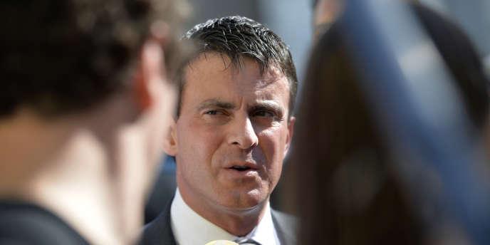 Le ministre de l'intérieur, Manuel Valls, le 18 octobre.