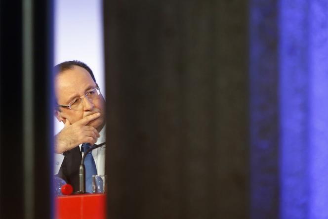 François Hollande à Paris, le 18 octobre.