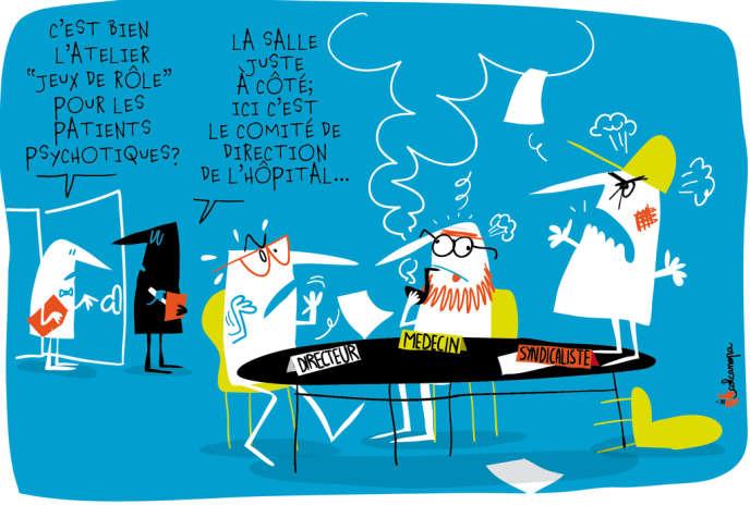 L'établissement de Villejuif (Val-de-Marne) est miné par un conflit entre médecins, syndicats et direction.