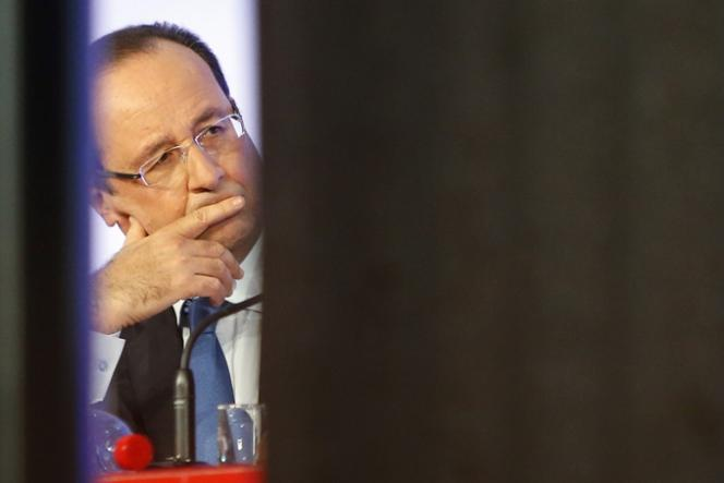 François Hollande, le 18 octobre à Paris.