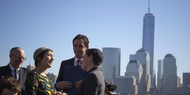 Le New Jersey est devenu lundi le 14e Etat américain à légaliser ces unions.