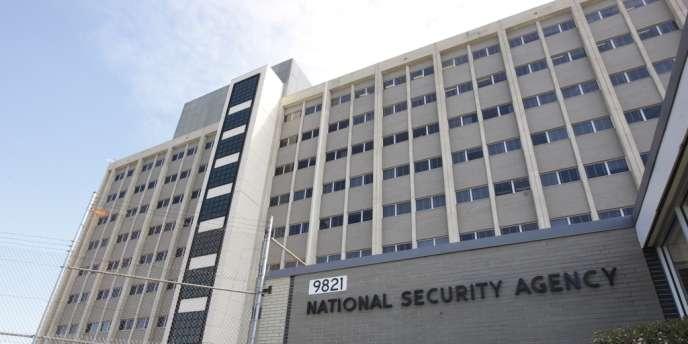 Siège de la NSA, à Fort Meade, dans le Maryland.