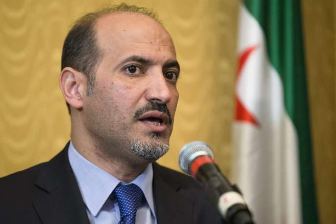 Le président de la Coalition nationale syrienne, Ahmed Jarba, le 27 septembre à New York.