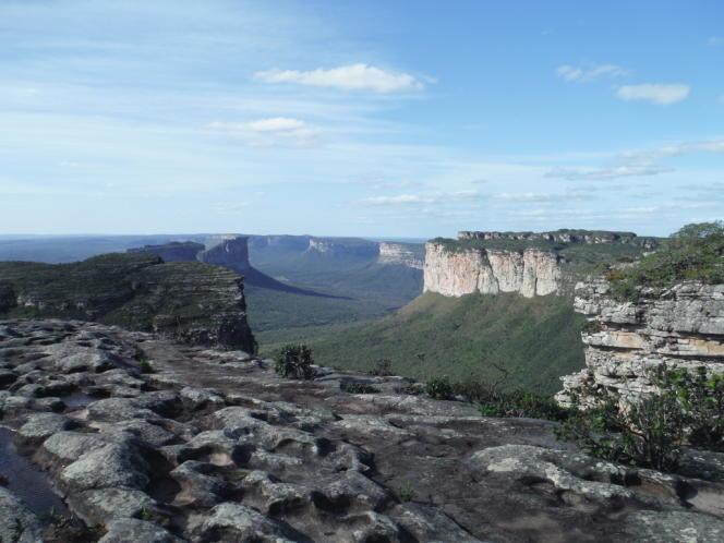 Le parc national de la Chapada Diamantina s'étend sur 1 520 km2.