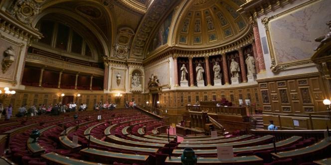 L'hémicycle du Sénat en septembre 2009.