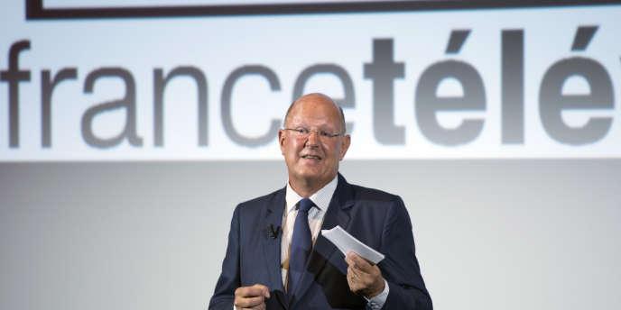 Rémy Pflimlin, président du groupe France Télévisions, le 27 août 2013.
