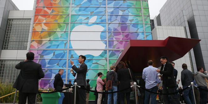 Un magasin Apple à San Francisco, en Californie.