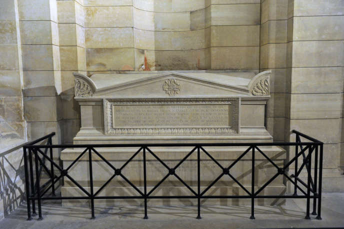 La tombe de Soufflot au Panthéon.