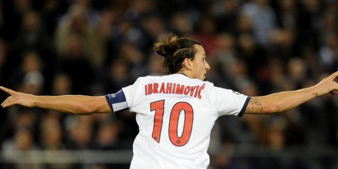 Zlatan Ibrahimovic a été l'auteur d'un quadruplé, mercredi 23 octobre.