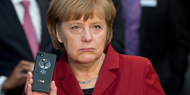 Angela Merkel, le 5 mars à Hanovre.