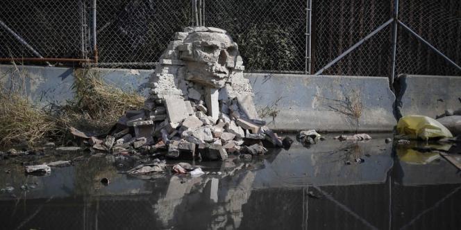 Œuvre de Banksy, créée le 22 octobre.